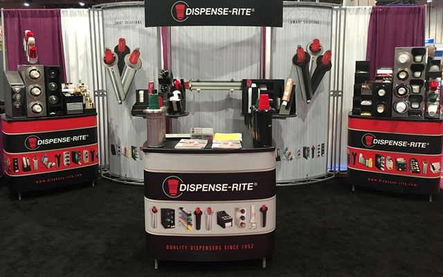 DISPENSE-RITE Tradeshow Booth