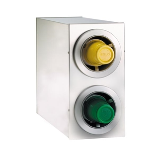 CTC-R-2SS Countertop cup dispensing cabinet