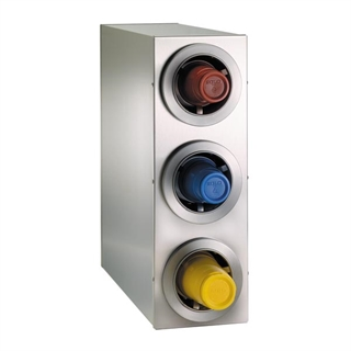 CTC-R-3SS Countertop cup dispensing cabinet