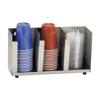 CTLD-15 Countertop cup & lid organizer