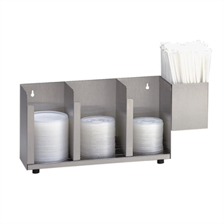 CTLD-15A Countertop cup, lid & straw organizer