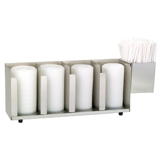 CTLD-19A Countertop cup, lid & straw organizer