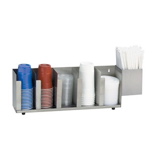 CTLD-22A Countertop cup, lid & straw organizer