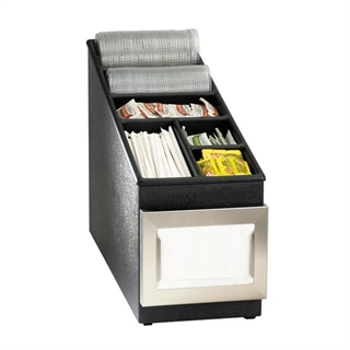 NSLC-1BT Countertop multi-purpose organizer with napkin dispenser