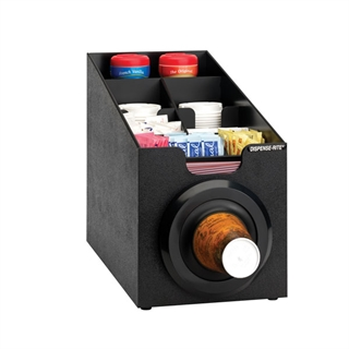 SLR-SCL-1BT Countertop cup, lid & straw dispensing cabinet