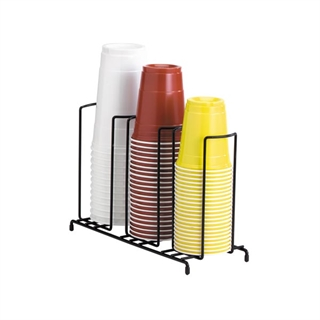 WR-3 Countertop wire form cup & lid organizer