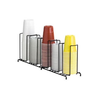 WR-5 Countertop wire form cup & lid organizer